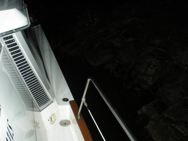 Side of the boat