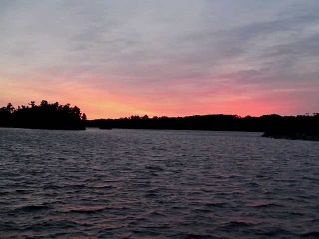 Dawn in Mill Lake