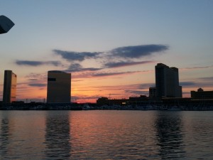 Sunset in Atlantic City, NJ 5/2/14
