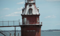 Ship John Light closeup, Delaware Bay